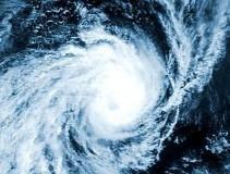 Hurricane cloud